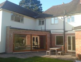 Davies - Single storey extensions and conversion of garage